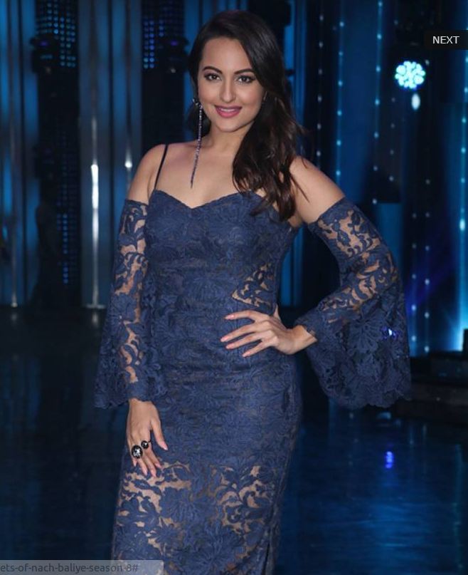 Sonakshi Sinha On The Sets of 'Nach Baliye Season 8'