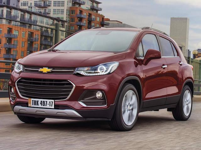 Novo Chevrolet Tracker 2017
