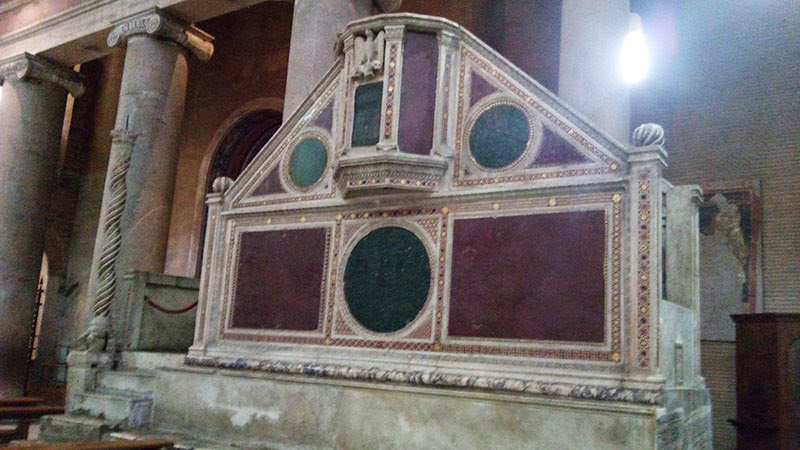 sao lourenco guia de roma ambao - Basílica de São Lourenço Fora dos Muros