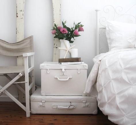 bedroom nightstand ideas.  A Beach Cottage Unique Bedroom Nightstand Ideas Driven by Decor