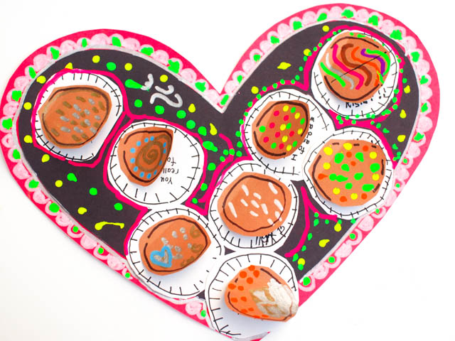Lift the Flap Valentine's Day Chocolates Card