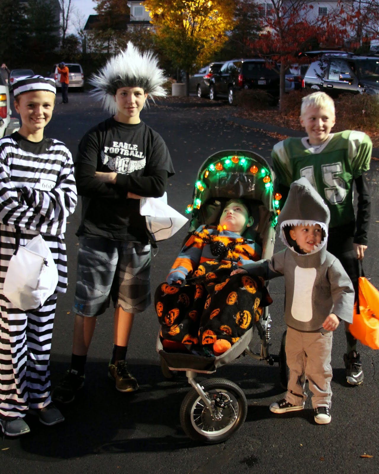 I Am Fearfully And Wonderfully Made Brayden Does Trunk Or Treat