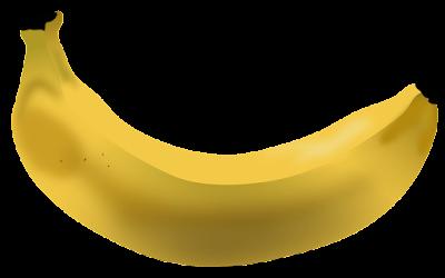 clipart gambar buah pisang