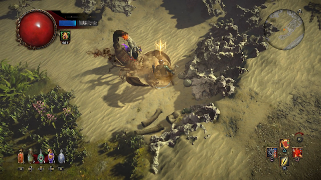 Path of Exile screenshot oficial