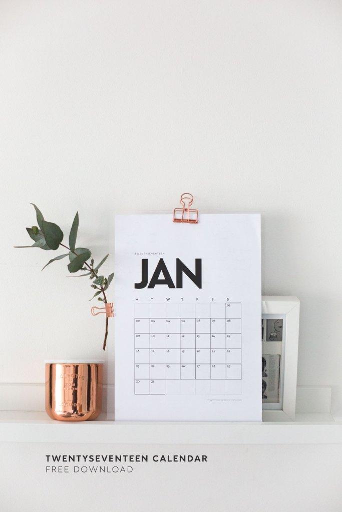 blogowe kalendarze 2017 do pobrania