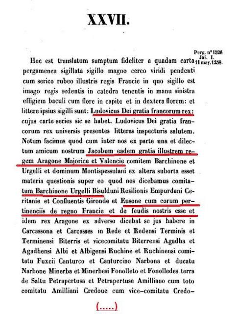 Tratat de Corbeil 1258, Gelu Marín González: Atlas de Europa, 2000