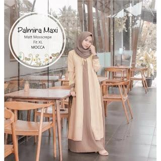 Jual Baju Busana Muslim Dress Palmira Maxi