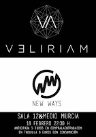 Concierto de Veliriam y New ways en 12ymedio