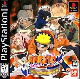 Naruto Shinobi No Sato No Jintori Gassen Ps1