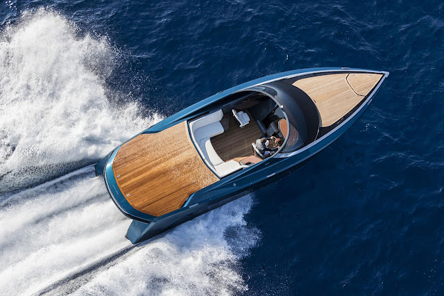 Aston Martin AM37 powerboat unveiled at Monaco Yacht Show