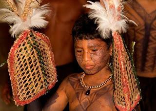 Suku Adat Satere-Mawe dengan Ritual Semut Peluru