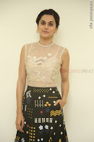 Taapsee Pannu in transparent top at Anando hma theatrical trailer launch ~  Exclusive 009.JPG