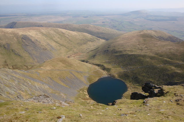 Scales tarn looks quite small from up here...