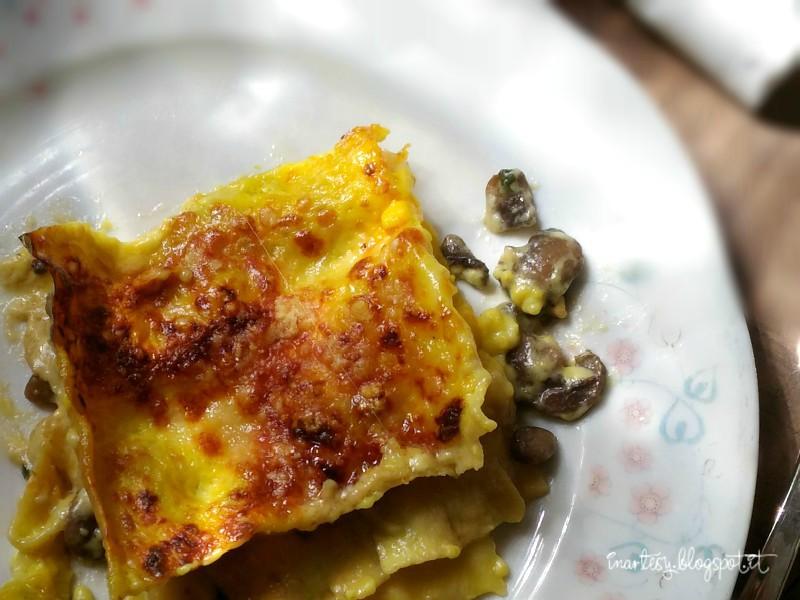 Lasagna Con Funghi E Zafferano Inartesy