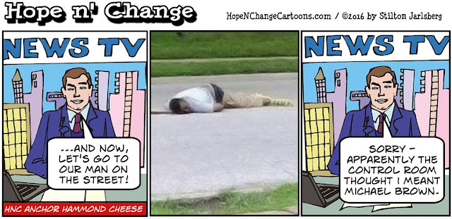 obama, obama jokes, political, humor, cartoon, conservative, hope n' change, hope and change, stilton jarlsberg, man on the street, fred ciampi, michael brown