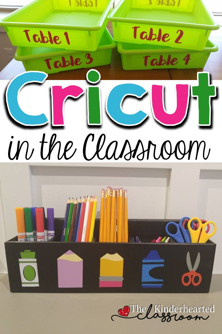 Classroom Ideas Using Cricut ~ Using a cricut in the classroom great ideas tips