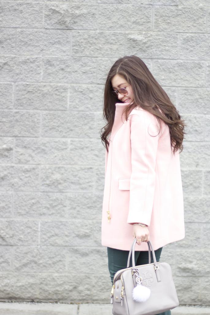 f31124280f4 Sweater: Michael Kors ❘ Coat: J.Crew ❘ Bottoms: Henry & Belle ❘ Shoes:  J.Crew ❘ Bag: Tory Burch ❘ Watch: Kate Spade New York ❘ Bracelet: Michael  Kors ...