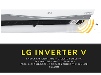 LG Reveals Inverter V and Mosquito Away Airconditioners
