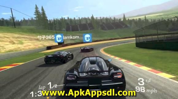 Real Racing 3 MOD Apk v5.1.0 Hack Unlimited Money + Data Terbaru 2017 Free Download