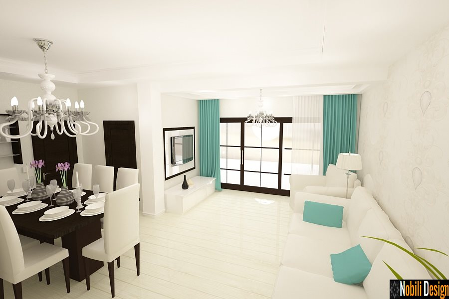 Design interior case vile moderne in Mangalia - Amenajari Interioare / Arhitect Mangalia