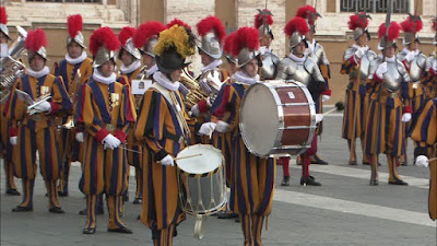 Vatican Guards.