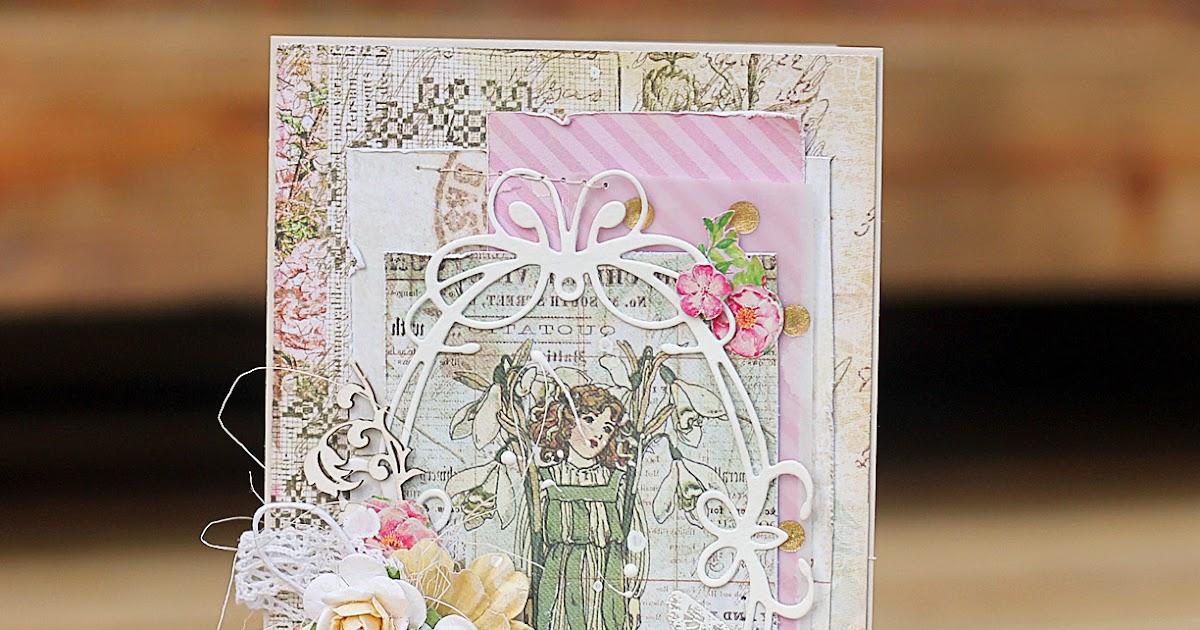 Мк открытки скрапбукинг с днем рождения