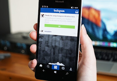 Instagram Perbarui Tampilan Windows 10