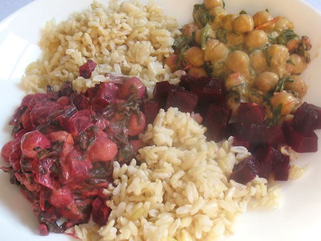 Chickpea, Spinach and Beet