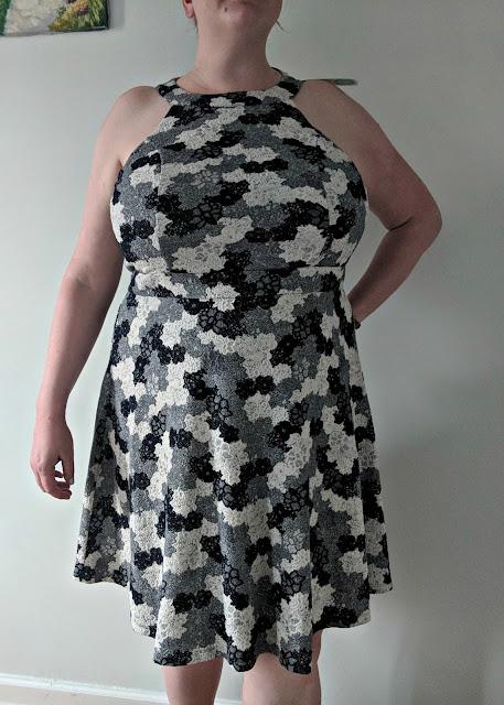 Truly Poppy Luanna Cotton Blend Textured Knit Dress