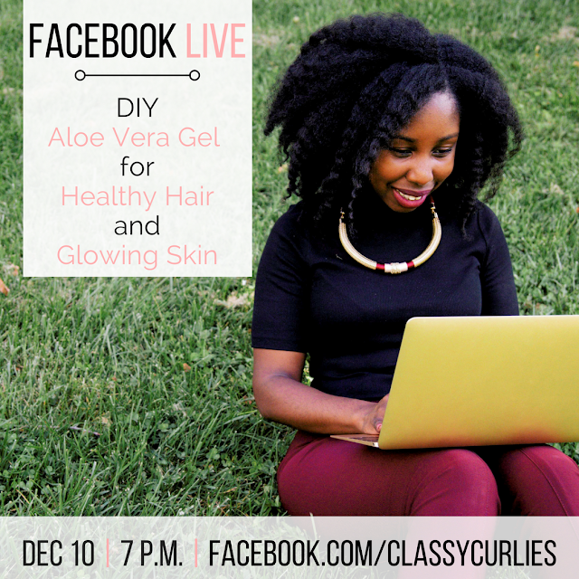 How to make your own aloe vera gel for natural hair - ClassyCurlies