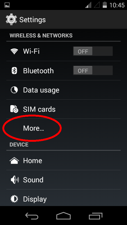 Symphony A50 Internet Setting in Android Kitkat 4 4 4