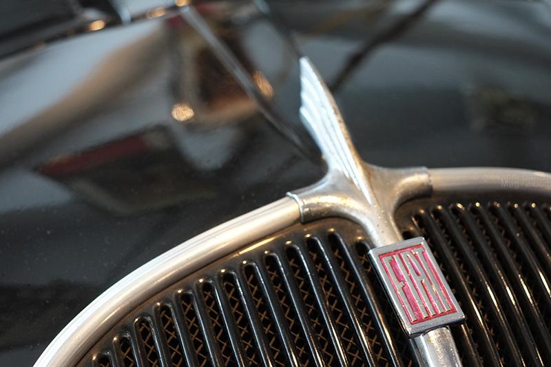 Museo Nicolis, autovettura Fiat d'epoca (dettaglio)