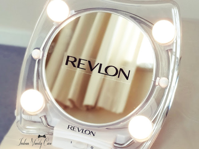 Indian Vanity Case Revlon Hollywood Lighted Make Up Mirror Love
