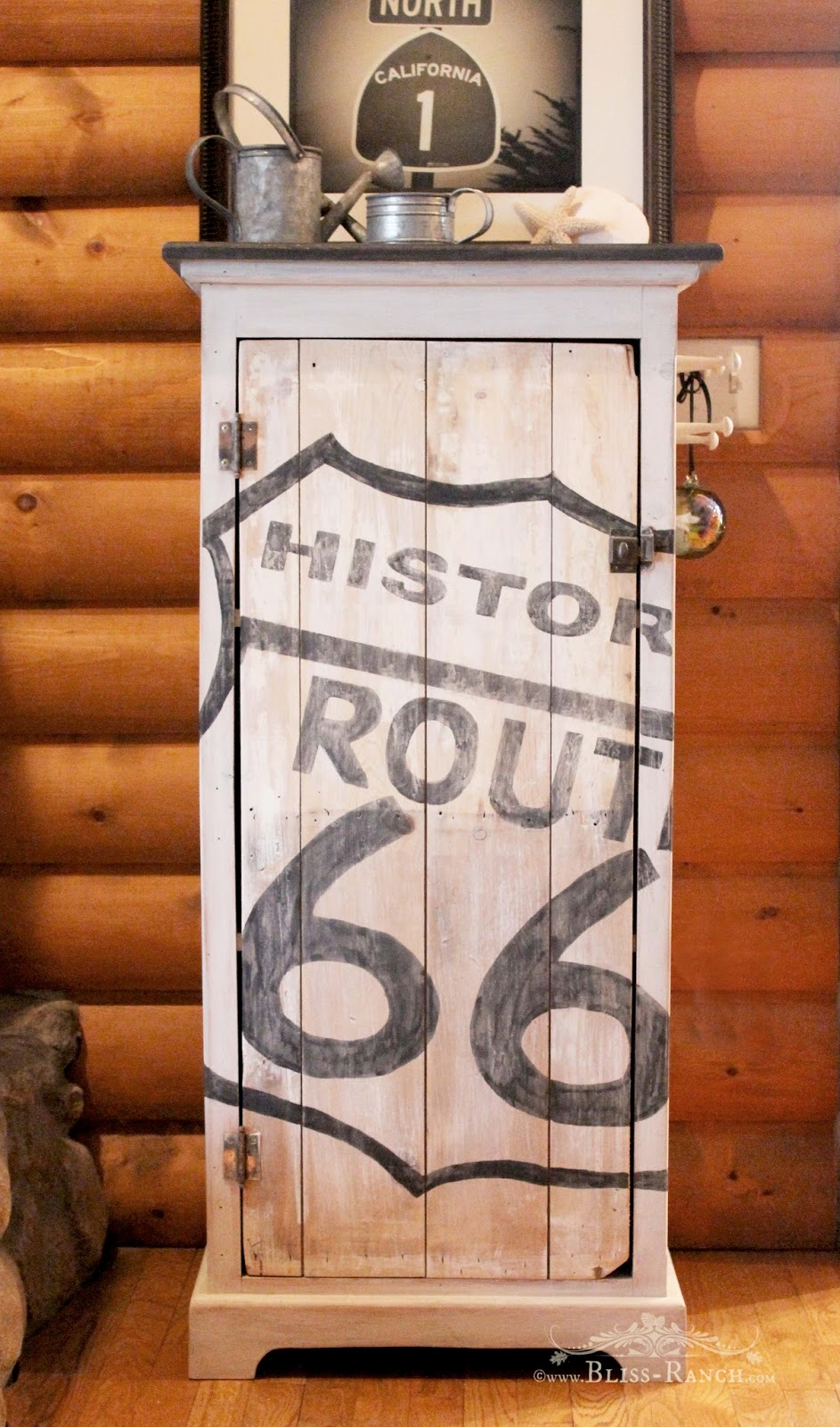 Route 66 Cabinet Copycat Bliss-Ranch.com