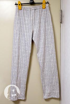 ninaのパジャマパンツの全体