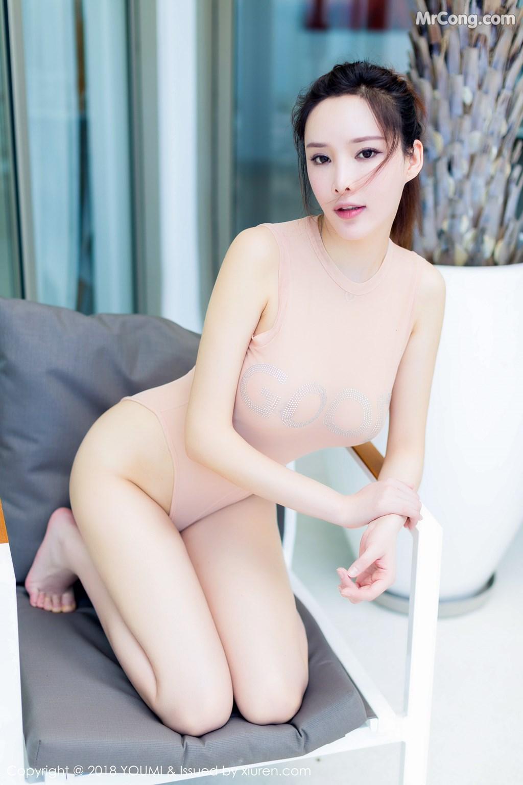 Image YouMi-Vol.150-Tu-Fei-Yuan-Ai-Cuo-Qiong-MrCong.com-009 in post YouMi Vol.150: Người mẫu 土肥圆矮挫穷 (49 ảnh)