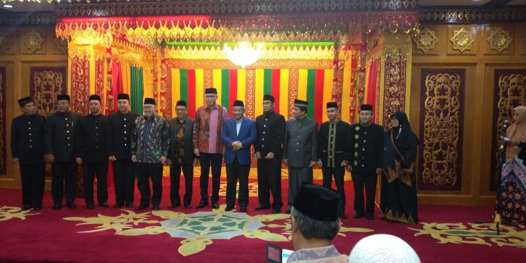 Muhammad Nuh Lantik Pengurus BWI Aceh