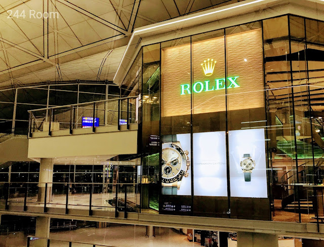 Rolex shop HKG Airport3