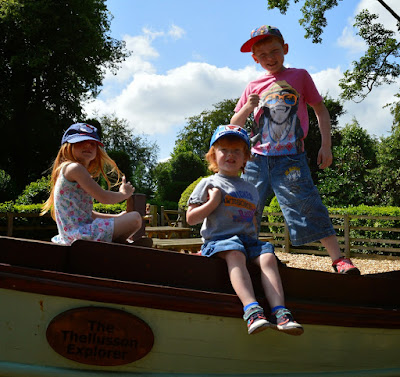 English Heritage - Brodsworth Hall Play Area