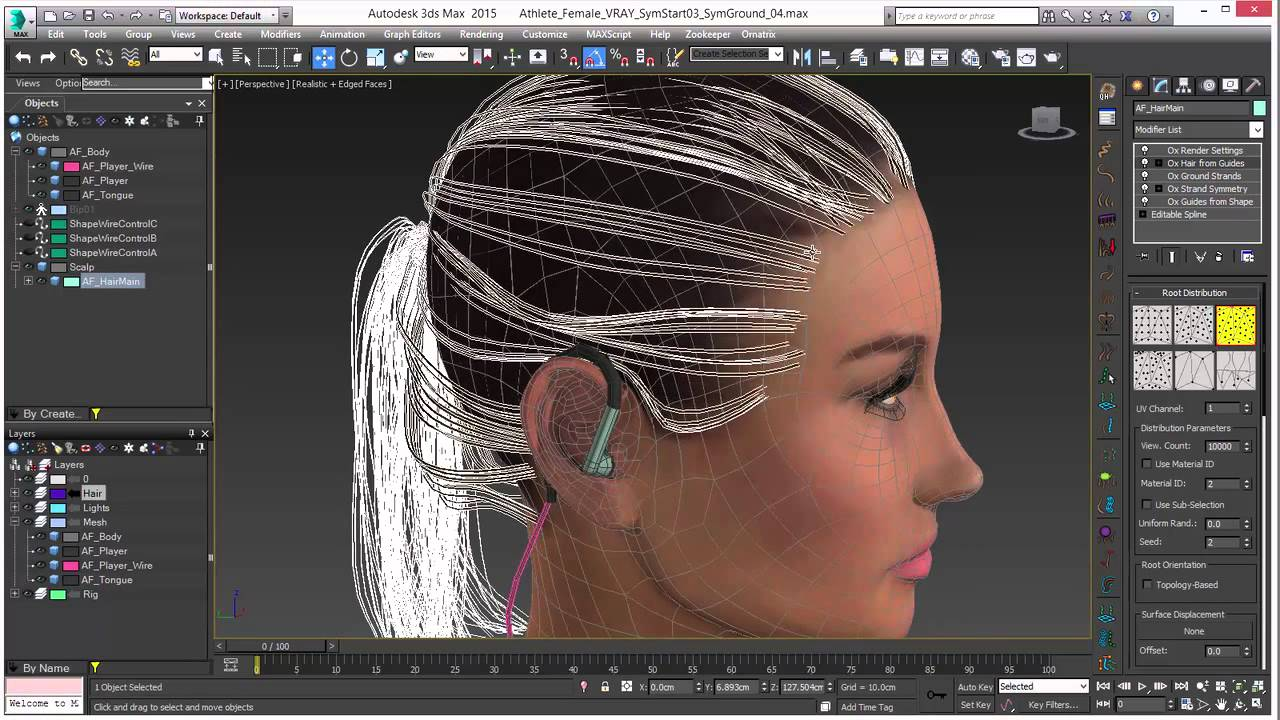 Ornatrix v5 1 8 for 3Ds Max 2012 to 2018 - Plugins Reviews