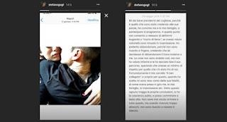 Nilufar Addati e Stefano Guglielmini foto insieme