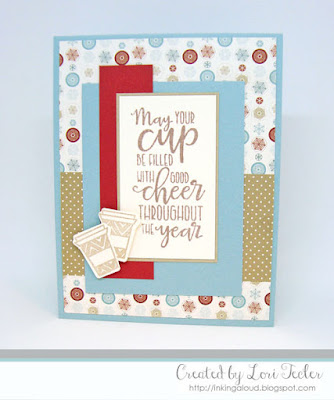 Filled with Good Cheer card-designed by Lori Tecler/Inking Aloud-stamps and dies from Verve Stamps