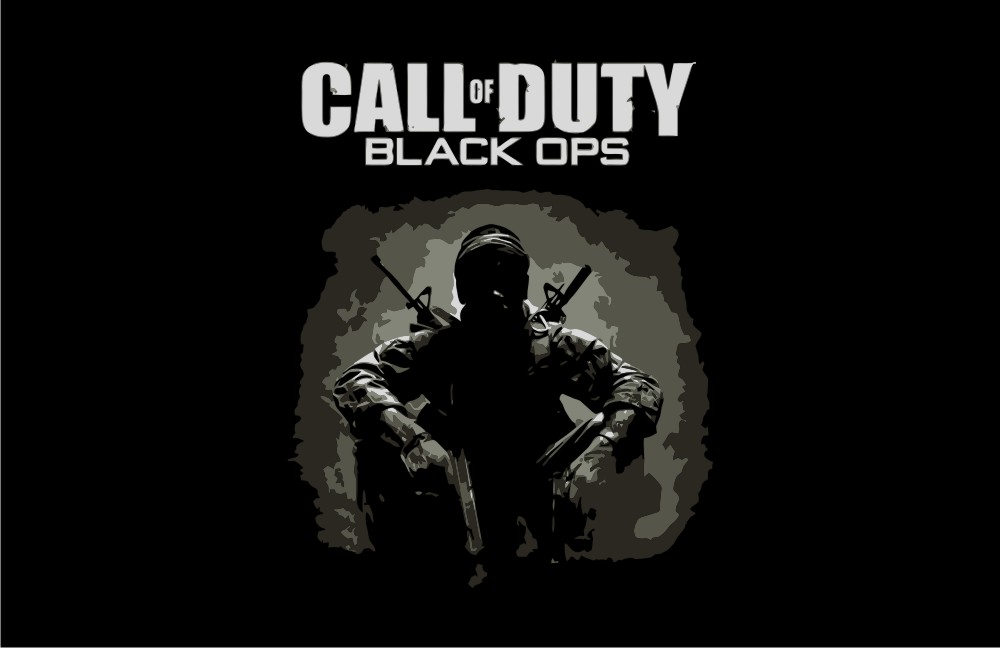 Call Of Duty Black Ops Cover Vector Game