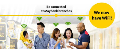 Maybank Free WiFi Branch Locations