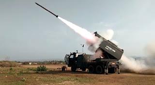 Prototipe Kendaraan Peluncur Roket R-HAN 122B Tahap II-II