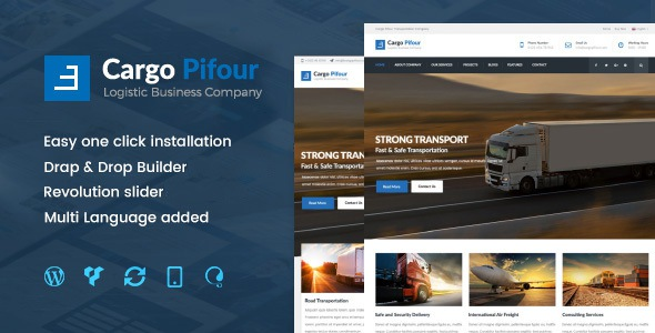 Best Logistic and Transportation WordPress Theme