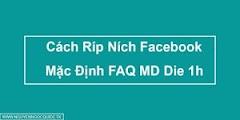 Cách Ríp Ních Facebook Dạng Faq Mạo Danh Die Trước Noti