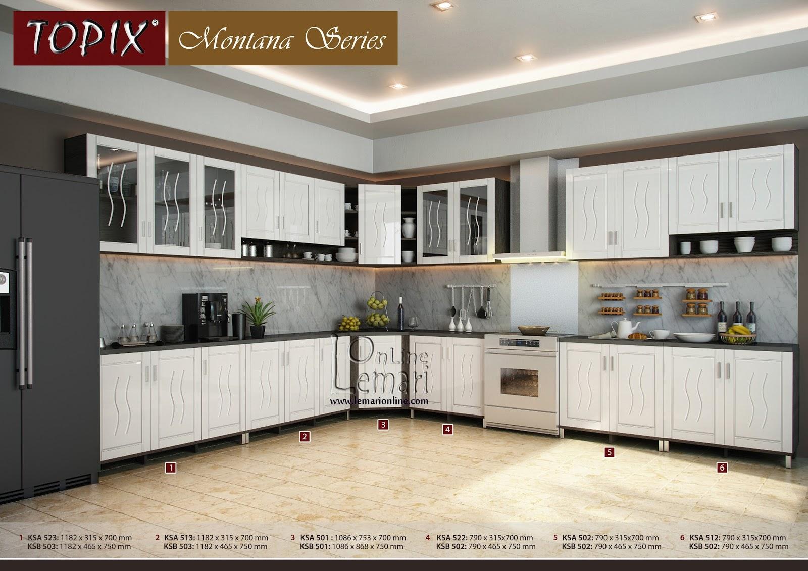 Lemari online kitchen set for Lemari kitchen