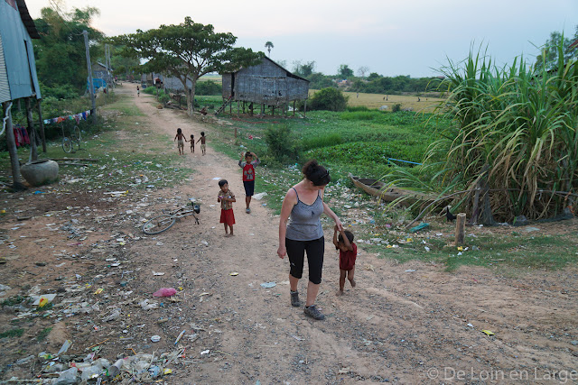 Village - Colline Phnom Krom - Cambodge