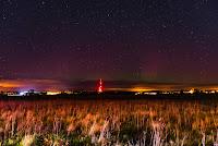 Zorza polarna w noc z 7 na 8 października 2018 r. Okolice Białegostoku, woj. podlaskie. Autor: Karolina Toczydłowska